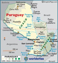 Map of Uruguay - Montevideo, South American Countries, Uruguay Map ...