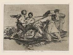 Francisco Goya, Con razon o sin ella, les désastres de la guerre (1815)