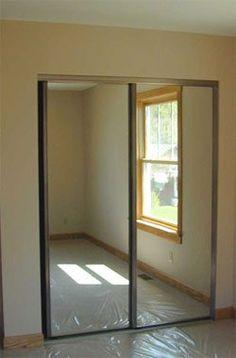 94 Best Mirrored Closet Doors Images Closet Doors
