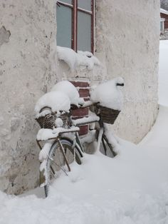 I told you to bring that bike in but would you listen...... :o)