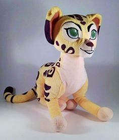 Disney Store Lion Guard Fuli Plush Cheetah Stuffed Animal Authentic  #Disney