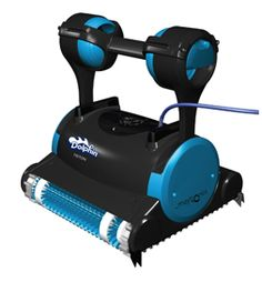 The Dolphin Triton is an advanced robotic cleaner with exceptional features and patented technology at an affordable price.  Robotic pool cleaner.