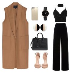 """""""classic"""" by laryssa-frota on Polyvore featuring Alexander Wang, Boohoo, T By Alexander Wang, Stuart Weitzman, Speck, Yves Saint Laurent and Topshop"""