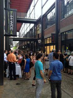 Liberty Village Wine Event Draws a Huge Crowd