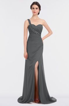 a6a819a60ab8 11 best Asymmetrical bridesmaid dress images | Night party dress ...