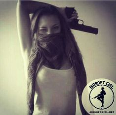 Airsoft girl