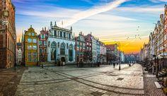 Danzig - eine wunderschöne, vielfältige Stadt an der polnischen Ostsee. Entdeckt die bunten Hausfassaden, den Hafen, die Strände und die Geschichte Danzigs!