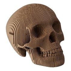 This Cardboard Human Skull will have you spooked. Vince is made of environmentally friendly, recycled cardboard.