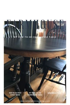 My new-to-me Farmhouse Table -