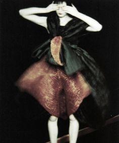 issey miyake, 1995 by sarah moon
