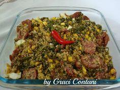 Farofa de couve: Graci Contani - Espaço das delícias culinárias