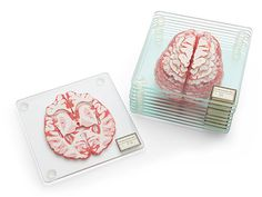 Online store ThinkGeek is selling brain specimen coasters that will be a hoot in parties involving neurosurgeons, psychologists, zombies, and psychopaths named Hannibal. A set includes 10 coasters, each featuring a different section of the human brain. Once stacked, they'll look like a 3D model of the real thing, sans the gore and blood. Each […]