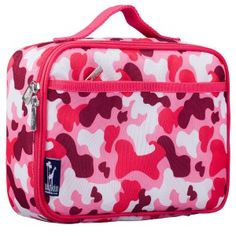 New Lunchboxes Pink Camo