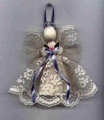 Victorian Handmade Lace Angel U$8