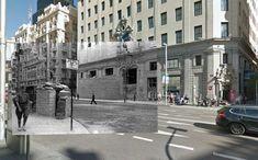 ¡No pasarán!: La Guerra Civil Española vista como nunca antes (FOTOS) - RT- Las herramientas clave para llevar a cabo este proyecto han sido fotografías de la época y GoogleStreet View.