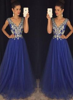 Royal Blue Prom Dresses,Royal Blue Prom Gowns,Prom Dresses 2016, Party Dresses 2016,Long Prom Gown,Prom Dress,Sparkle Evening Gown,Sparkly Party Gowns