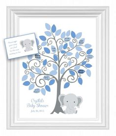 Hey, I found this really awesome Etsy listing at https://www.etsy.com/listing/241389937/baby-shower-guest-11x14-sign-in-tree
