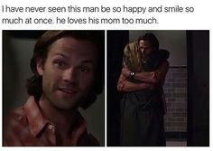 My precious Sammy is just so happy to see his mom