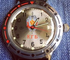 So now for something different. A Vostok KGB watch. I know very little about it or Vostok. But something about the functionality and the 80's kitch caught my eye. Enjoy. #watchesofinstagram #watchporn #vostok #kgb #watchignoramus #enlightenus please someone.