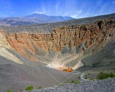 Ubehebe Crater, Death Valley, in Death Valley National Park, California