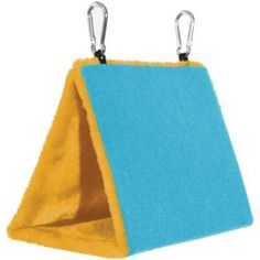 Small Blue Snuggle Hut for Birds by Prevue Pet 1163