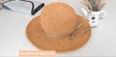 Kağıt İp Şapka Yapımı | Asya İle Her Şey Crochet Ball, Crochet Shoes, Crochet Slippers, Knit Crochet, Crochet Crafts, Crochet Projects, Crochet Stitches, Crochet Patterns, Sombrero A Crochet