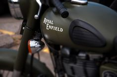 India made with British heritage - Royal Enfield motorcycle Copyright - Jeff E. Smith