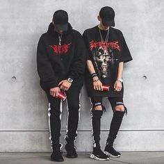 Estilo preto, roupas estilosas, homens, vestuário masculino, looks masculin Tomboy Outfits, Grunge Outfits, Grunge Fashion, Urban Fashion, Love Fashion, Cool Outfits, Fashion Outfits, Fashion Rings, Street Fashion