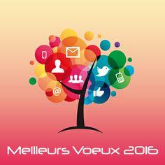 Carte de voeux 2016 Numérique pour des voeux professionnels