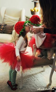 My Little Strawberry Shortcakes by Dear Lillie