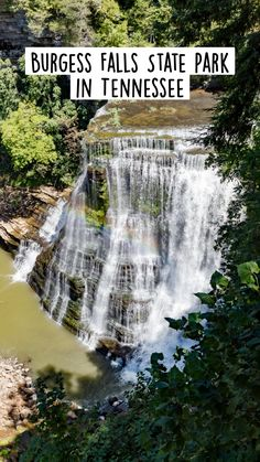 Burgess Falls State Park in Tennessee