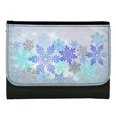 Snowflakes Design Wallet