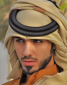 Omar Borkan al Gala- he literally was deported for being too attractive.. Hahahah weird.