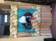 Hanging Doorway Puppet Theater
