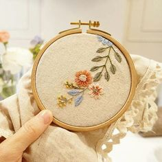 """2,111 Likes, 10 Comments - ⚪ ⚪Вышивка (@handmade.embroidery) on Instagram: """"#embroidery #handembroidery @luckylala7"""""""
