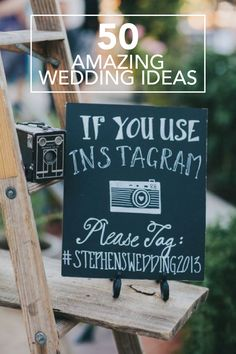 Find inspiration for every part of your wedding—from rustic decor and creative wedding programs to bridal hair pieces and bachelorette party ideas—with these 50 creative ideas!