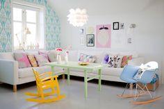 Quatorze salas de estar que me inspiram | Casinha colorida
