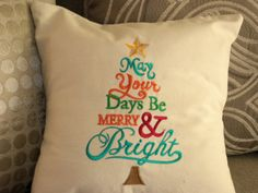 Pillow Cover Christmas Pillow Cover Cotton by CustomizedGiftForYou
