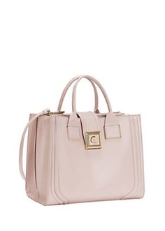 Versace - New Icon patent leather bag