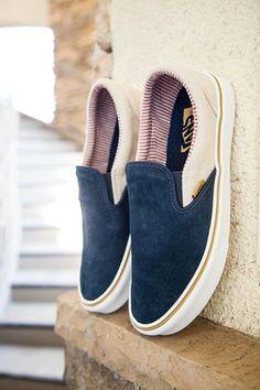 Vans Slip On: Navy