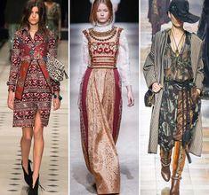 Осень/ Зима 2015-2016 Модные Тенденции: Традиционный Народный Стиль