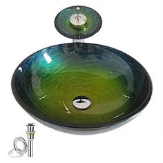 Colorful Round Tempered glass Vessel Sink With Waterfall Faucet ,Pop - Up drain and Mounting Ring - See more at: http://www.homelava.com/en-colorful-round-tempered-glass-vessel-sink-with-waterfall-faucet-pop-up-drain-and-mounting-ring-nb-p6191.htm#sthash.1ZYD7jT7.dpuf
