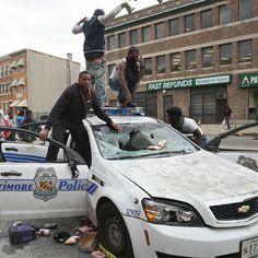 Peaceful protestors that just want fair treatment? What a load of hooey. They are lowlife thugs looking forward to maiming & killing & stealing. Horrible People, We The People, Baltimore Riots, New Democratic Party, Burning City, American Exceptionalism, National Review, Culture War, Obama