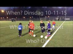 Demo Voetbal training U7 U8 U9 voetbaloefeningen - YouTube