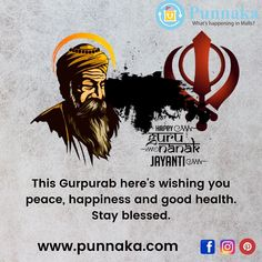 This Gurpurab here's wishing you peace, happiness and good health. Stay blessed. #punnaka #punarie #gurunanak #waheguru #gurbani #sikhism #sikh #khalsa #gurunanakdevji #sikhi #ji #waheguruji #satnamwaheguru #gurugobindsinghji #gurugranthsahibji #goldentemple #gurudwara #guru #punjabi #sikhs #singh #punjab #amritsar #darbarsahib #gurbanitimeline #shabad Guru Nanak Jayanti, Amritsar, Blessed, Peace, Shit Happens, Happy, Ser Feliz, Room, Being Happy