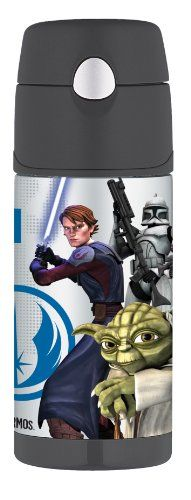 Thermos Funtainer Bottle, Star Wars Clone Wars