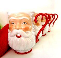 Santa Mugs (etsy)