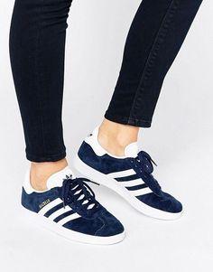 Adidas | adidas Originals Navy Suede Gazelle Sneakers