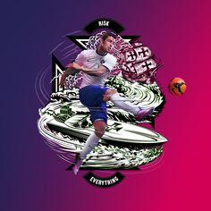 "Nike Football ""Risk Everything"" on Behance"