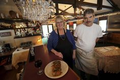 New Alycia's owner Colleen Swifte, with cook Kevin Von Gunten. Swifte says it's incredible to see how the name Alycia's draws customers to her restaurant.</p>